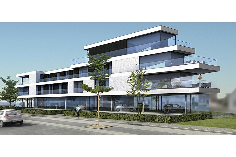 (IN OPTIE) Prachtig hoekappartement in uniek project in een opvallende, moderne architectuur te Knokke-Heist
