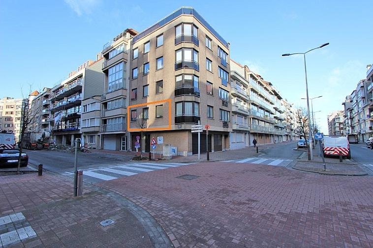 Knus appartement, centraal gelegen nabij de Lippenslaan en het strand te Knokke.