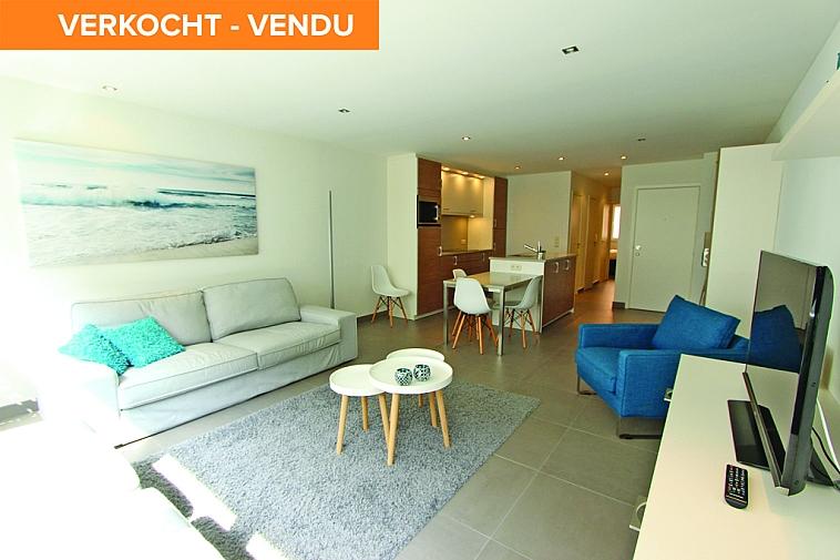 Aangenaam, lichtrijk appartement op 30 meter van het strand te Knokke