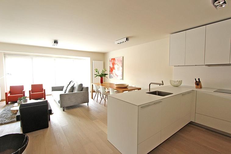 Exclusief ingericht, lichtrijk appartement op een centrale doch rustige ligging te Knokke