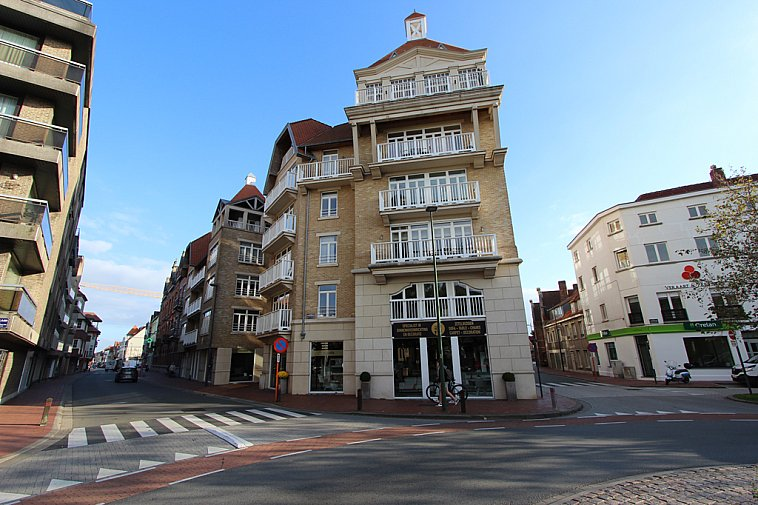 Aangenaam, ruim 2-slaapkamersappartement centrum van Knokke