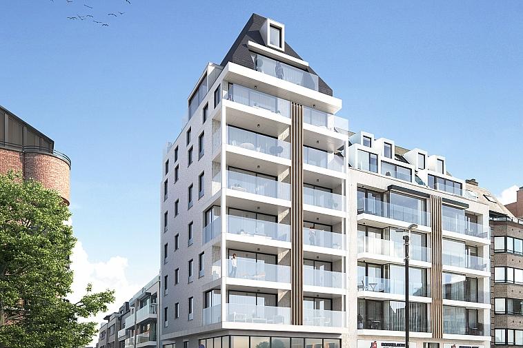 Oud Knokke II - Nieuwbouw in ruime, moderne architectuur