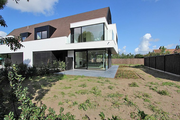 Kalvekeetdijk - Villas jumelées neuve de style contemporain