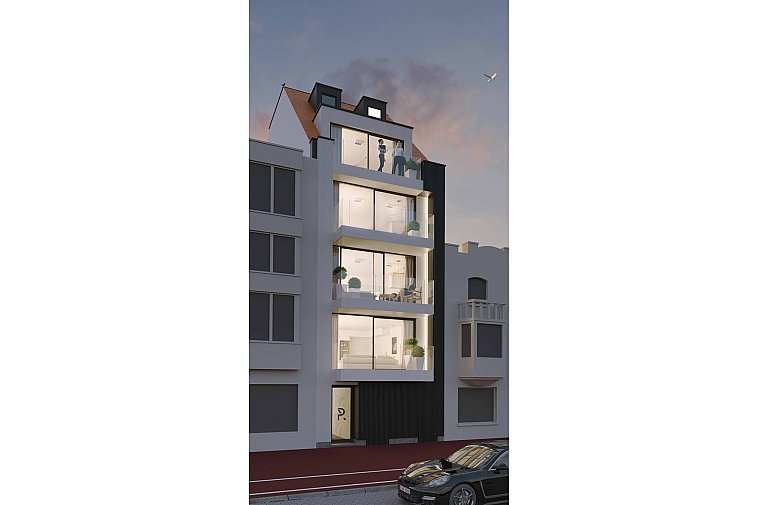 P - Residence - Nieuwbouwresidentie in Knokke