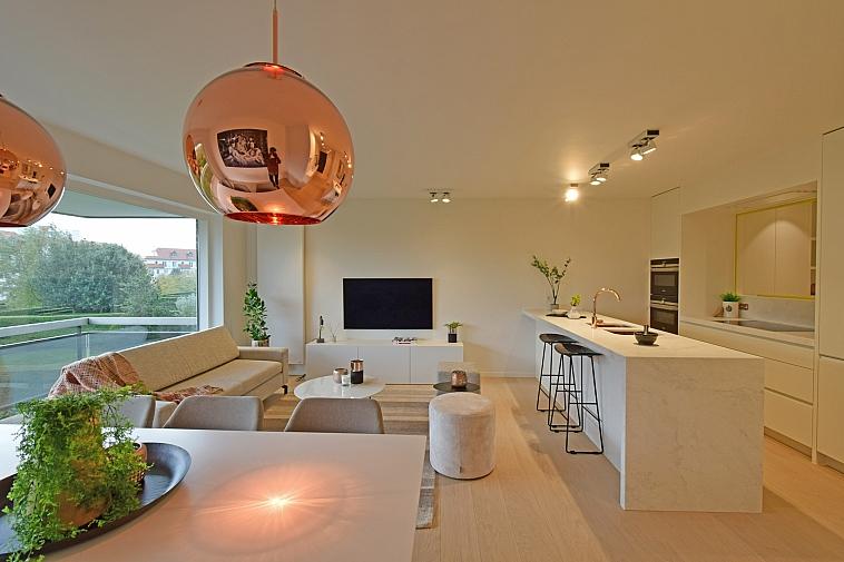 Superbe appartement 3 chambres rénové situé au coeur du Zoute