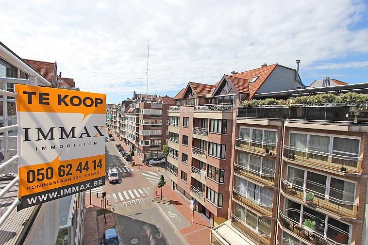 Recent, verzorgd duplex-appartement, centrum Knokke