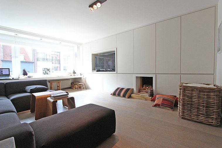 Zonnig, gerenoveerd appartement in het centrum van Knokke