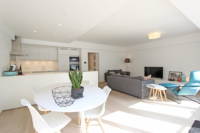 Prachtig gerenoveerd appartement, centrale ligging te Knokke