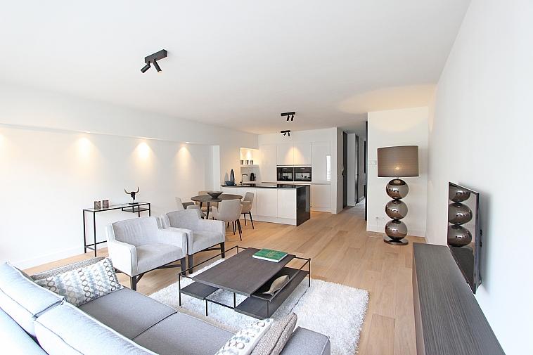 Bel appartement  rénové bien situé près de la plage et de la place Rubens à Knokke