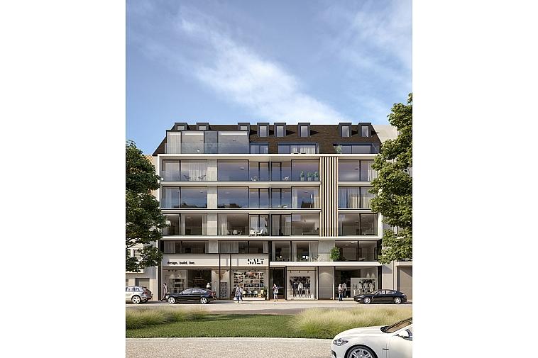 Momentum - Nieuwbouw in een heel moderne architectuur te Knokke-Heist
