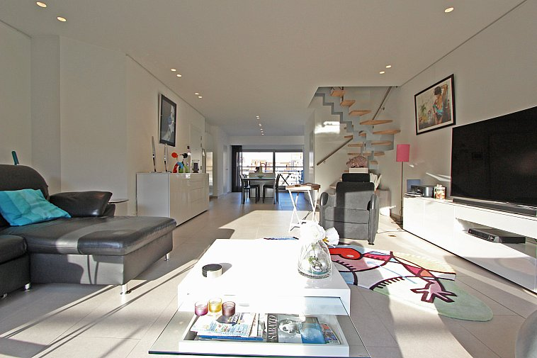 Luxueuze duplex-penthouse met grote zonneterrassen te Knokke