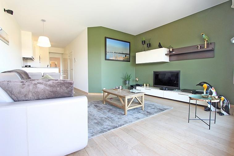 Prachtig appartement met panoramisch zicht te Knokke