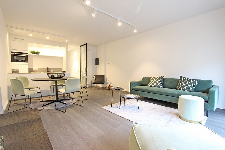Subliem gerenoveerd appartement nabij het strand van Knokke