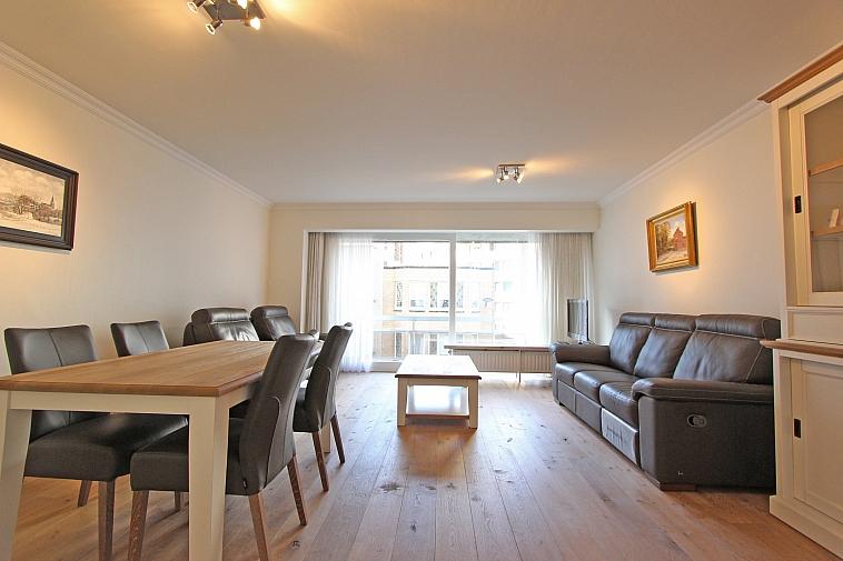 Aangenaam en lichtrijk appartement centrum Knokke