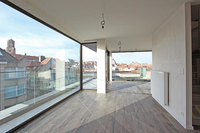 ppartement duplex lumineux au coeur de Knokke