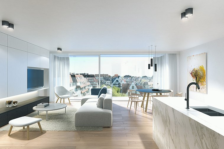 Hampton Beach - Projet prestigieux, haut de gamme Duinbergen