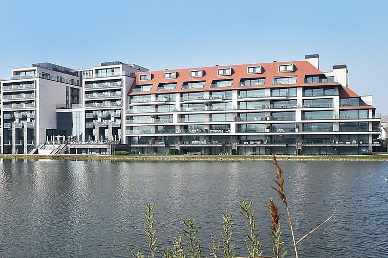 Luxe, zon, elegantie en kalmte aan het Zegemeer te Knokke