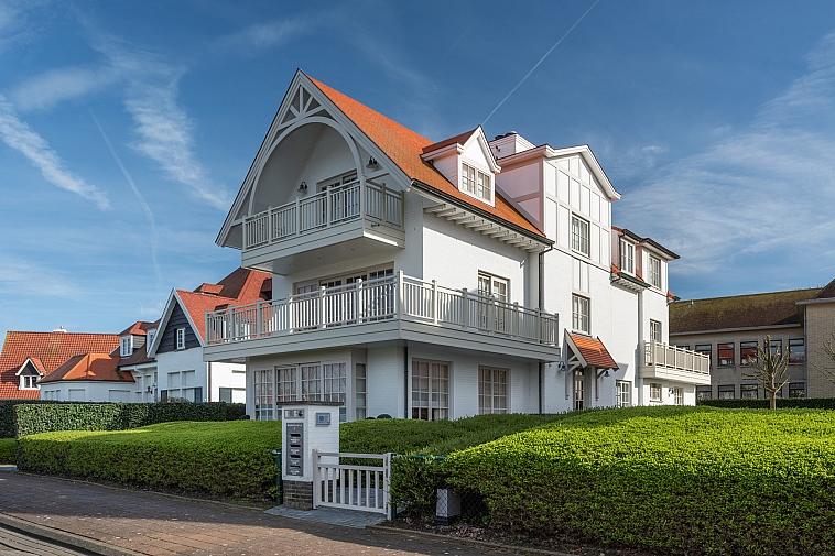 Luxueus duplex-appartement, zicht op het Zegemeer te Knokke