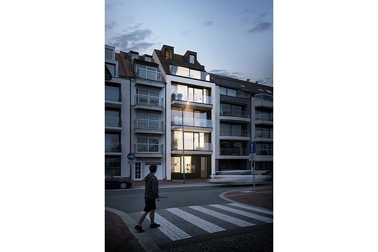 Koning - Nieuwbouwproject van 5 appartementen