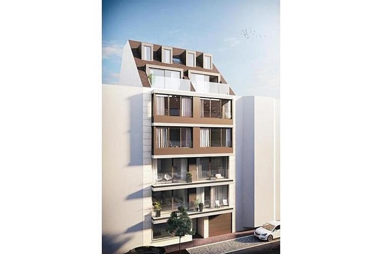 Nieuwbouwappartement in een strakke, moderne architectuur, nabij het strand te Knokke.