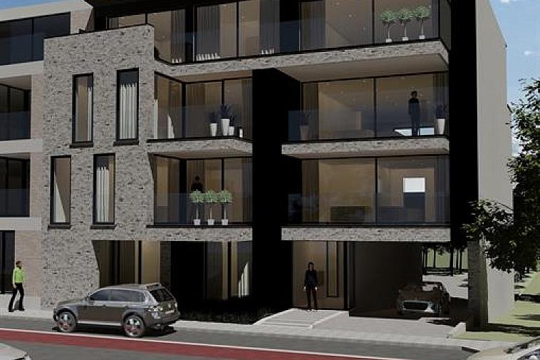 Raphaël', nieuw en modern project van 6 appartementen met brede gevel en grote zonneterrassen en met zicht op het water. De appartementen zijn Zuid georiënteerd, gelegen aan de Damse vaart nabij de polders en het centrum van Brugge. Door de kleinschaligheid van dit project blijft uw privacy gewaarborgd. Elk appartement beschikt over een brede living, brede zonneterrassen met privacy en 2 of 3 slaapkamers. De appartementen hebben een hoogwaardige afwerking en worden gebouwd met traditionele kwaliteitsmaterialen. De indeling kan in overleg aangepast worden. De residentie bestaat uit: · 1 gelijkvloersappartement met 3 slaapkamers met terrassen voor en achter · 4 appartementen met 2 slaapkamers met terrassen voor en achter · 1 duplexappartement met 3 slaapkamers en terrassen voor en achter Fietsenberging voorzien in de residentie. U kunt op 2 stappen zowel van het centrum van Brugge als van de polders genieten of een leuke uitstap naar Sluis met de fiets! Mogelijkheid tot aankoop van staanplaats of garage in de residentie! Plannen en gedetailleerd lastenboek op kantoor. 100 % voltooiïngswaarborg. Bouwstart: 05/2019 Voorziene oplevering: eind 2020