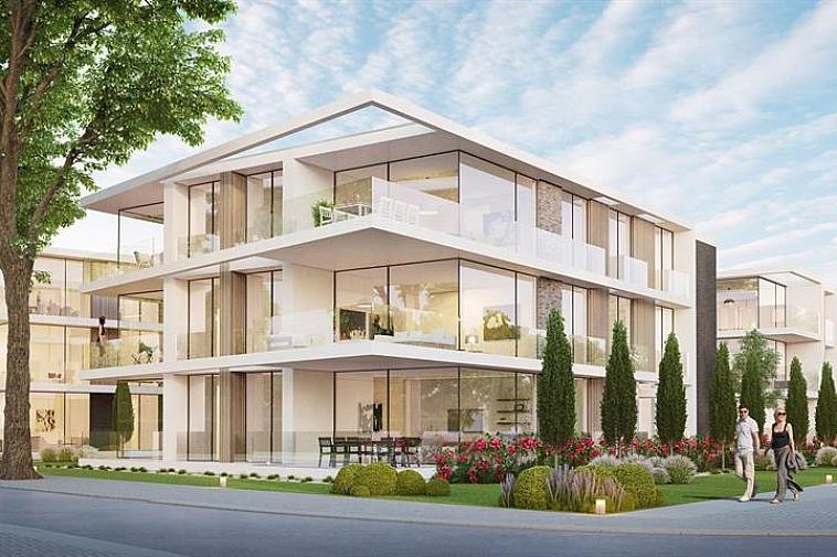 Net buiten het centrum van Varsenare en op een boogscheut van de E40 wordt residentie Nieuwenhove opgebouwd. Deze residentie bestaat uit drie losstaande appartementsblokken voltooid in strakke en moderne architectuur en omgeven door groen.  Iedere blok is twee verdiepingen hoog en per verdieping zijn er drie appartementen, één voor één afgewerkt met hoogstaande en duurzame materialen. Door de grote raampartijen geniet u optimaal van lichtinval en door de ruime terrassen is het zalig vertoeven.  Elk appartement beschikt over een nachthal, een berging/wasruimte, 2 slaapkamers, een badkamer, een apart toilet, een open keuken met eetplaats en een leefruimte dat uitgeeft op het terras.  Ook is de site volledig onderkelderd en is er plaats gemaakt voor een ruime ondergrondse parking, private kelders en 3 fietsenbergingen.  Aarzel niet ons te contacteren, er zijn reeds een aantal appartementen verkocht! Plannen en gedetailleerd lastenboek op kantoor. Maak een afspraak op kantoor om deze opportuniteit niet te missen!   Voor verdere informatie of vrijblijvend bezoek contacteer het kantoor op 050 62 44 14 of mail naar Brugge@immax.be. Virtuele bezoeken zijn bij Immax Brugge mogelijk via Zoom of Google Meet!