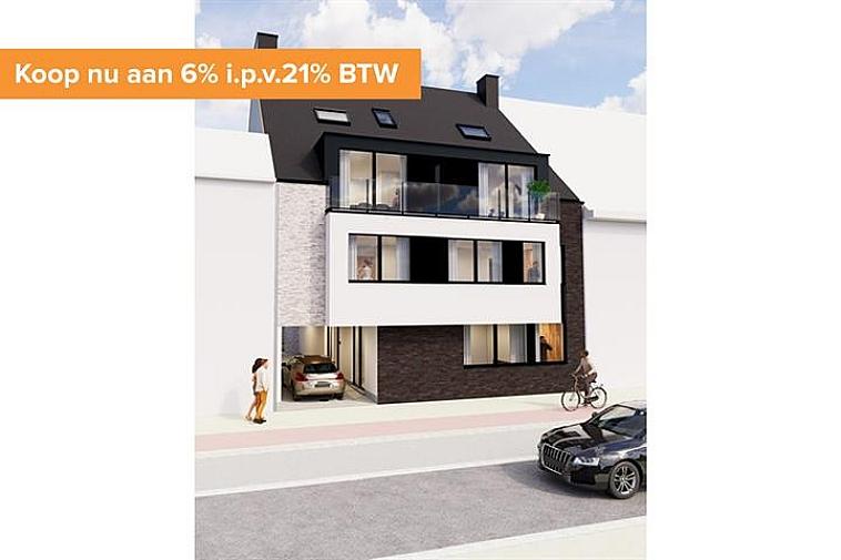 Met trots stellen wij residentie Niels voor, een kleinschalig nieuwbouwproject op een uitstekende ligging in het centrum van Sijsele! De residentie bestaat uit 5 appartementen, waaronder 2 luxueuse duplexappartementen! Bijkomend voordeel is de gemeenschappelijke tuin achter de residentie!   Alle appartement beschikken over een ruim terras en zijn standaard uitgerust met vloerverwarming. De residentie wordt opgebouwd met oog voor duurzaam wonen, door het lage E-peil is er gedurende 5 jaar een volledige vrijstelling van de kadastrale aanslag. Daarenboven is het appartementsgebouw uitgerust met zonnepanelen die jaarlijks zorgen voor een opbrengst.  Vanaf 2021 is een verlaagd btw-stelsel van 6% van kracht voor nieuwbouwappartementen gebouwd op een terrein waar de oude bewoning werd afgebroken. Wie nu nog een nieuwbouwappartement koopt met bouwvergunning 2020 kan nog van deze regel genieten tot eind december 2022. Dit onder voorwaarde dat u zelf de woning betrekt, en er minstens 5 jaar blijft wonen.   Mogelijkheid tot het bijkopen van een garage of staanplaats!  De onmiddellijke nabijheid van winkels en horeca in combinatie met energiezuinig wonen maken van dit project de ideale investering!  Voor verdere informatie of plannen en gedetailleerd lastenboek  contacteer Vincent op 050 62 44 14 - 0470 01 36 13 of mail naar Brugge@immax.be.