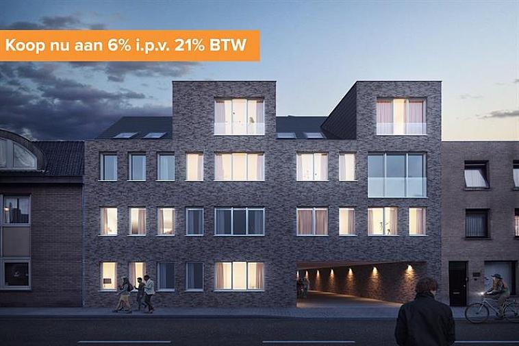Residentie Van Maerlant, een kleinschalige residentie gelegen in de J. Van Maerlantstraat. De residentie wordt opgebouwd in een moderne en luxueuze architectuur en geniet van een uiterst centrale ligging. Zo sta je op wandelafstand aan de zeedijk van Blankenbergen en het stationsplein.  Alle appartementen zijn standaard uitgerust met vloerverwarming en grote ramen waardoor ze enorm lumineus zijn. Elk appartement biedt een volledig geïnstalleerde keuken en een badkamer met inloopdouche.  Het appartement geniet volgende indeling: inkom met gastentoilet - open keuken met berging - eetruimte - leefruimte met aansluitend terras - badkamer - 3  slaapkamers.  In de prijs zit ook een ruime, private berging en gemeenschappelijke fietsenberging voorzien. Bovendien is er de mogelijkheid om één of meerdere garageboxen aan te kopen in dezelfde residentie. Mogelijkheid tot aankoop aan verlaagd btw-tarief van 6%   Voor verdere informatie of plannen en gedetailleerd lastenboek contacteer Vincent op 050 62 44 14 of mail naar Brugge@immax.be.